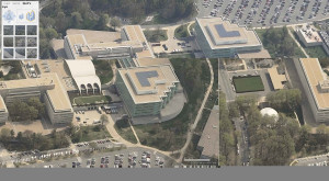 CIA headquarters in Virginia, also known as the 'Cloud'