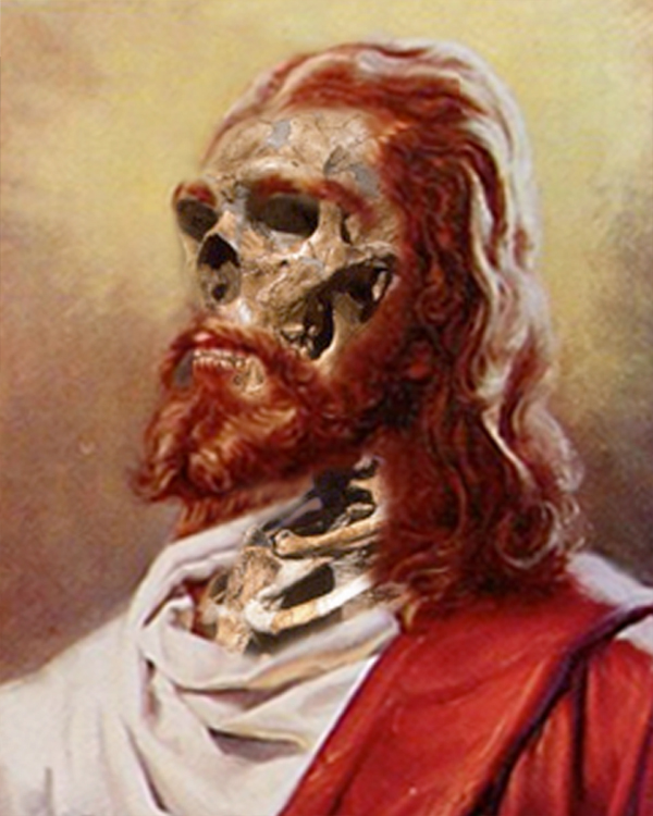 Jesus as he would probably look like today