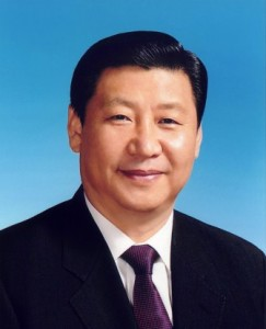 Xi Jinping: photo taken on Blue Sky Day