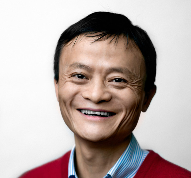 Jack Ma happy