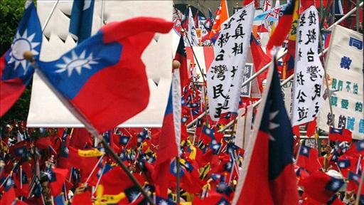 China's interference has been a boon for the Taiwanese flag industry